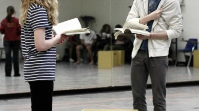 Angels in America Rehearsal