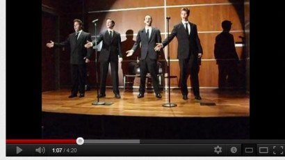VIDEO: Jersey Boys Acapella Medley