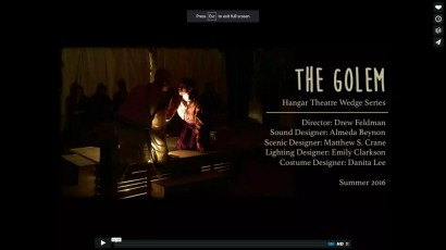 VIDEO: The Golem by H. Leivick – Teaser Trailer